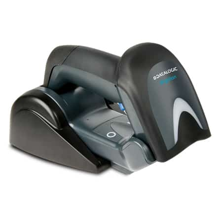 Datalogic Gryphon in Cradle Facing Down