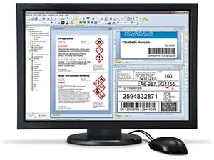 Barcode on Computer Screen