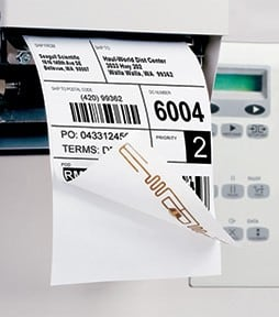 RFID Labelling in Printer