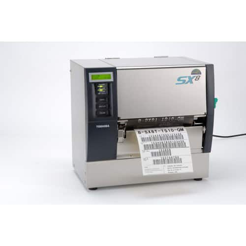 Toshiba B-SX8T Wide Industrial Label Printer